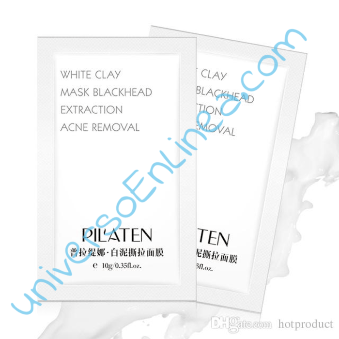 Mascara Pilaten White Clay Mask Blackhead Original C/10pz