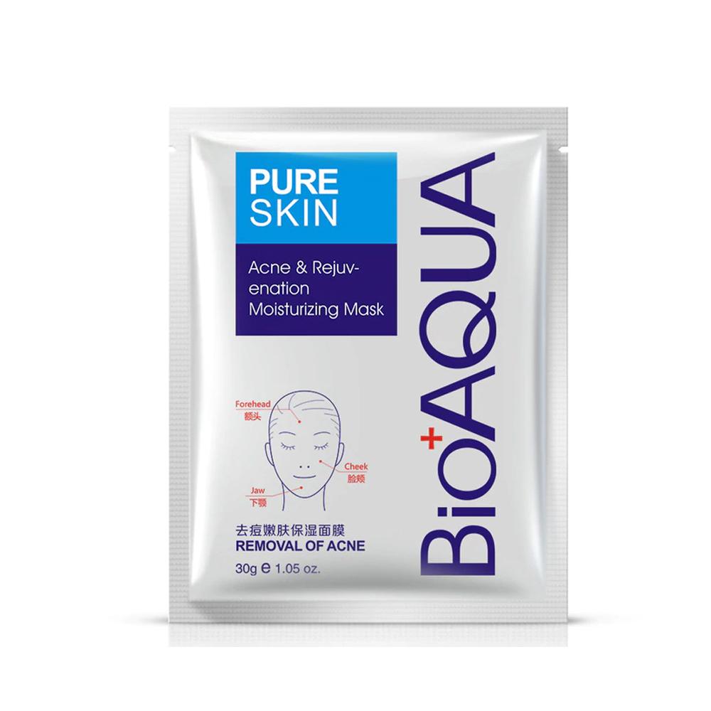 Mascarilla Pure Skin Bioaqua Acne Hidratación Aclarante
