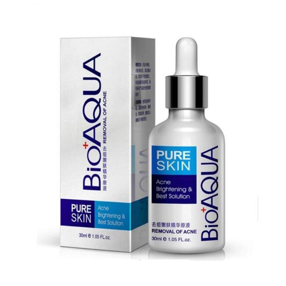 Bioaqua Serum Pure Skin Retira Acne Y Espinillas Regenera 30ml