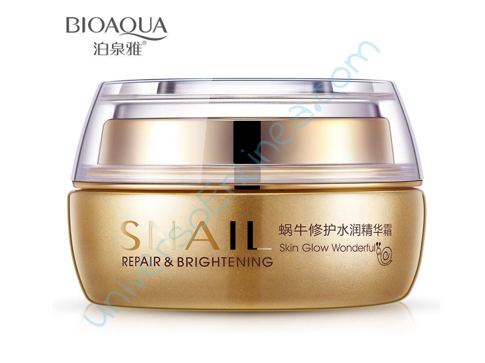 Crema Facial De Caracol Bioaqua Anti-arrugas Hidratante