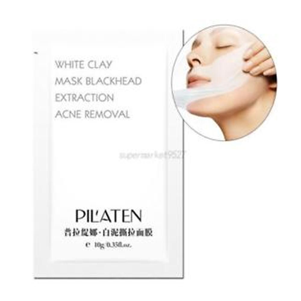Mascara Pilaten White Clay Mask Blackhead Original C/10pz