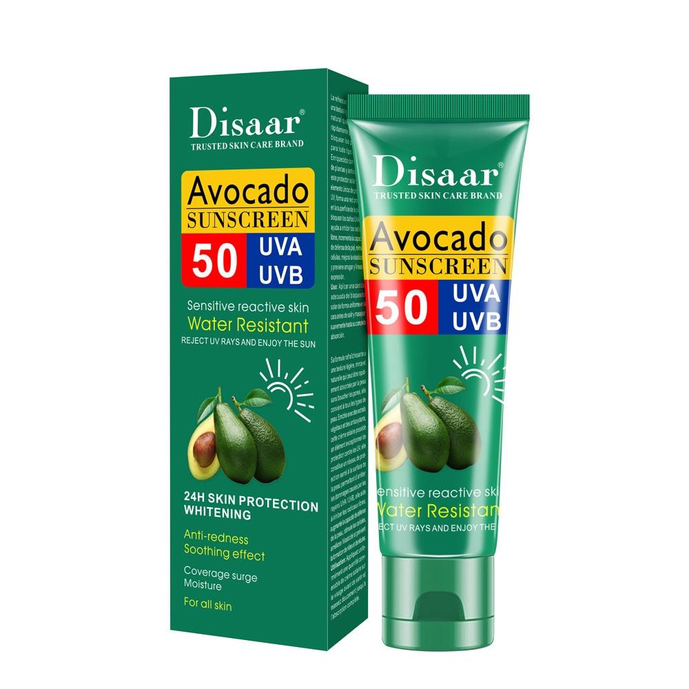 Protector Solar 50 Avocado Sunscreen Protege La Piel Disaar