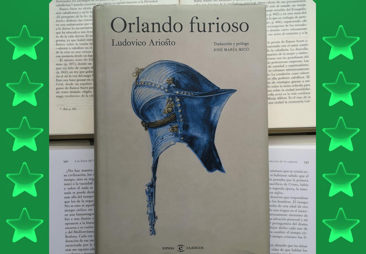 Orlando furioso de Ludovico Ariosto.