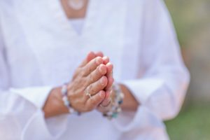 Mindfulness Practice, Increasing Positive Energy, Hand Gesture