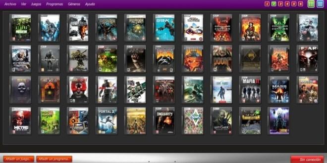 Prometeo: software para organizar tus juegos en tu pc