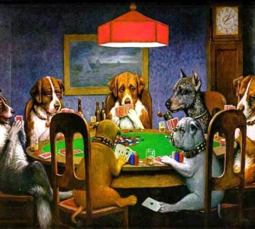 dogs-poker