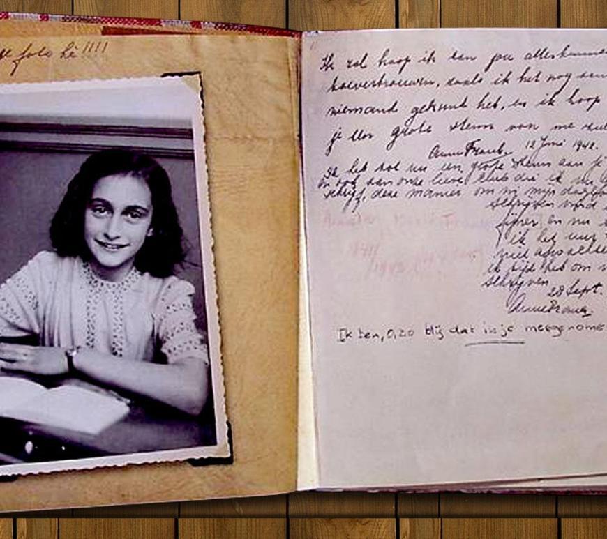Fragmento inédito del diario de Ana Frank se publica a 90 años de su nacimiento | Universos Literarios