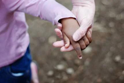 mano piccola e mano grande