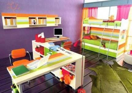 cameretta multicolor