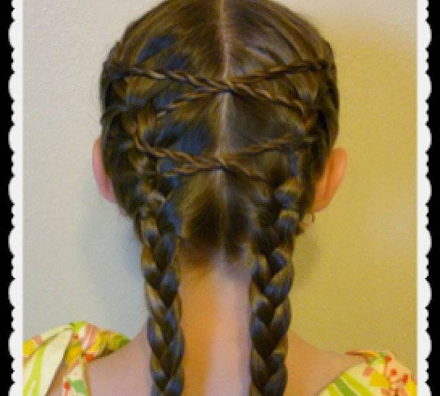 Cute braided hairstyles for white kids