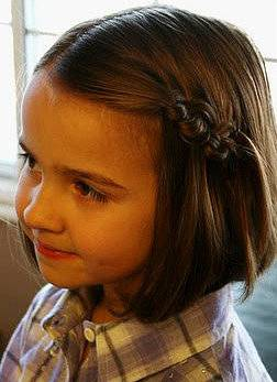 nodi per bambina capelli