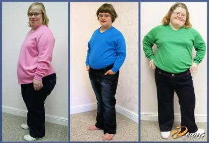 modelli di jeans per persone down