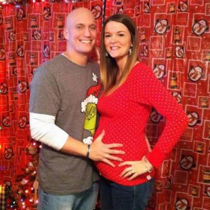 Jenna e il marito Brandon