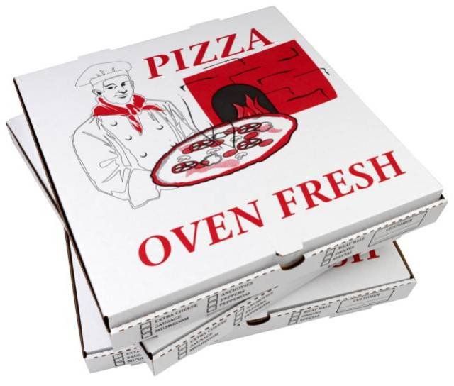 cartoni della pizza