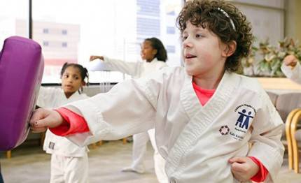 kids kickning cancer