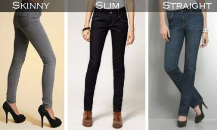 modelli jeans