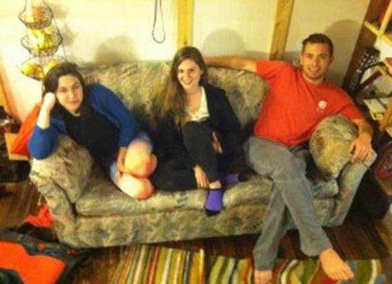 i ragazzi e il divano