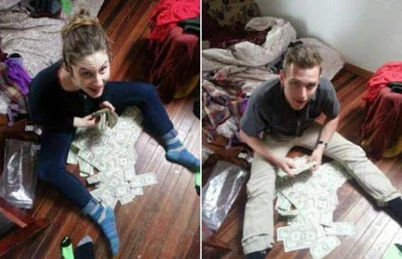 i soldi ritrovati