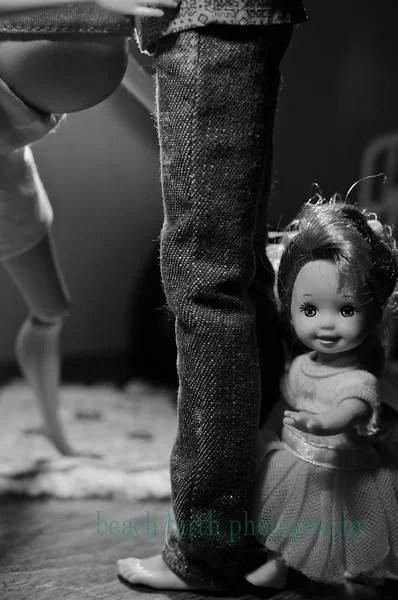 ken e figlia barbie