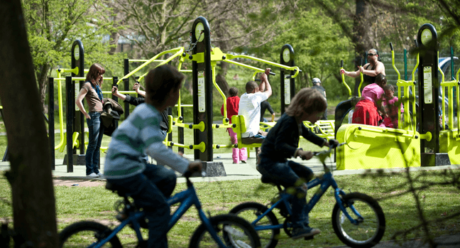 the great outdoor gym