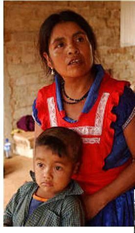 mamma e figlio sopravvissuti