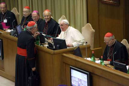 papa Francisco al sinodo
