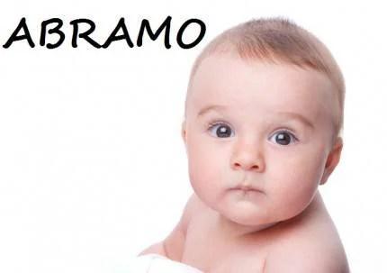 bambino con nome Abramo