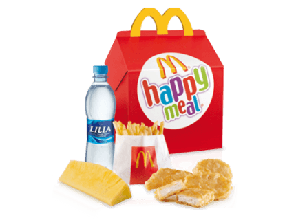 Happy meal mc donalds