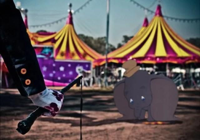 Dumbo picchiato