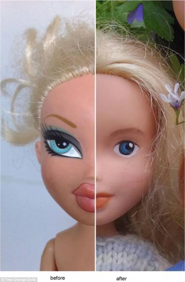 viso bambola