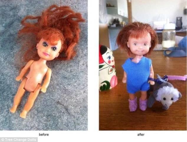 bambole capelli rossi