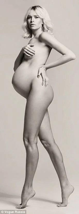 elena permonova incinta
