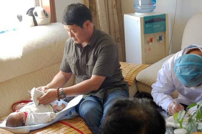 Cop Raid Finds Over 30 Diseased Babies Held By Traffickers