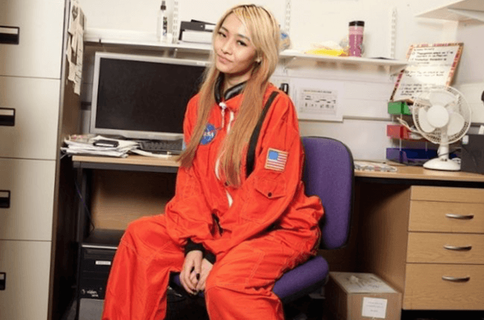 donna su Marte