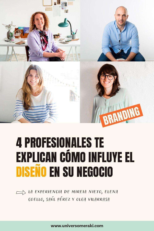 Mireia, Elena, Saul y Olga explican como influye el diseño en sus negocios
