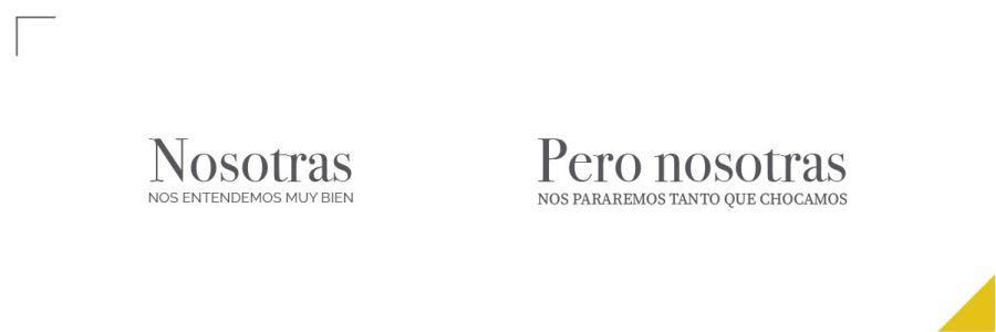 Errores tipográficos, cómo combinar fuentes