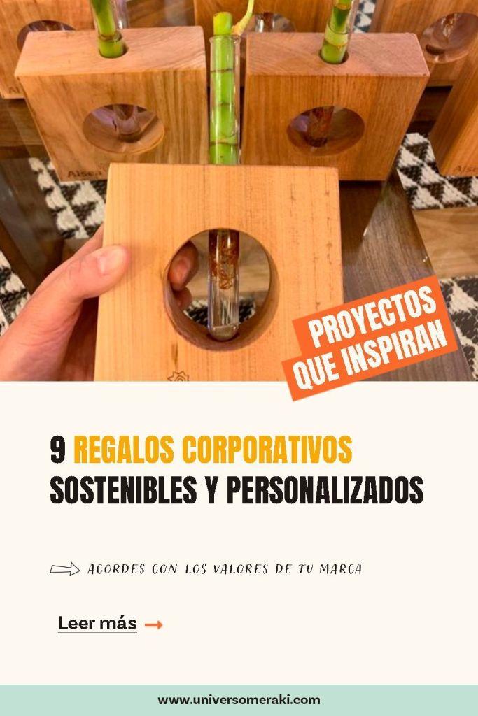 9 regalos corporativos sostenibles y personalizados