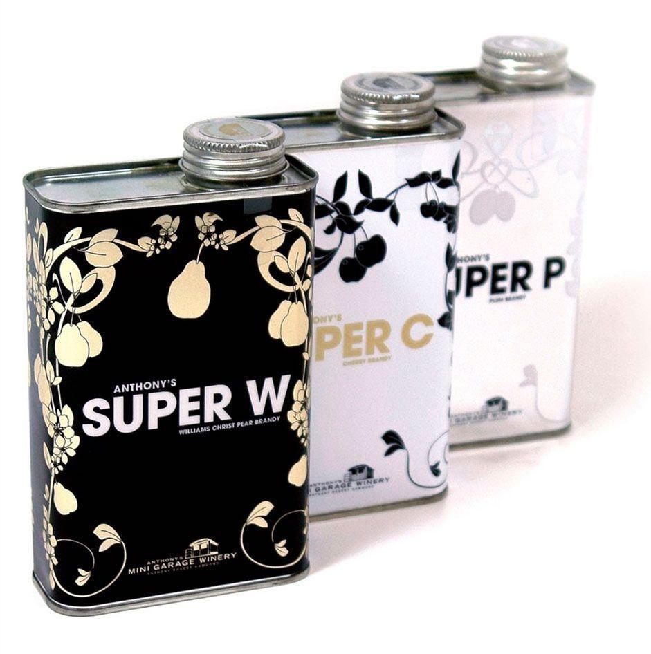 Super Wine, vino en botella de disolvente