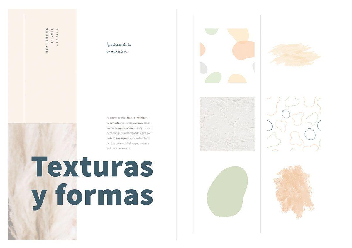 Texturas para identidad Thania Moreira