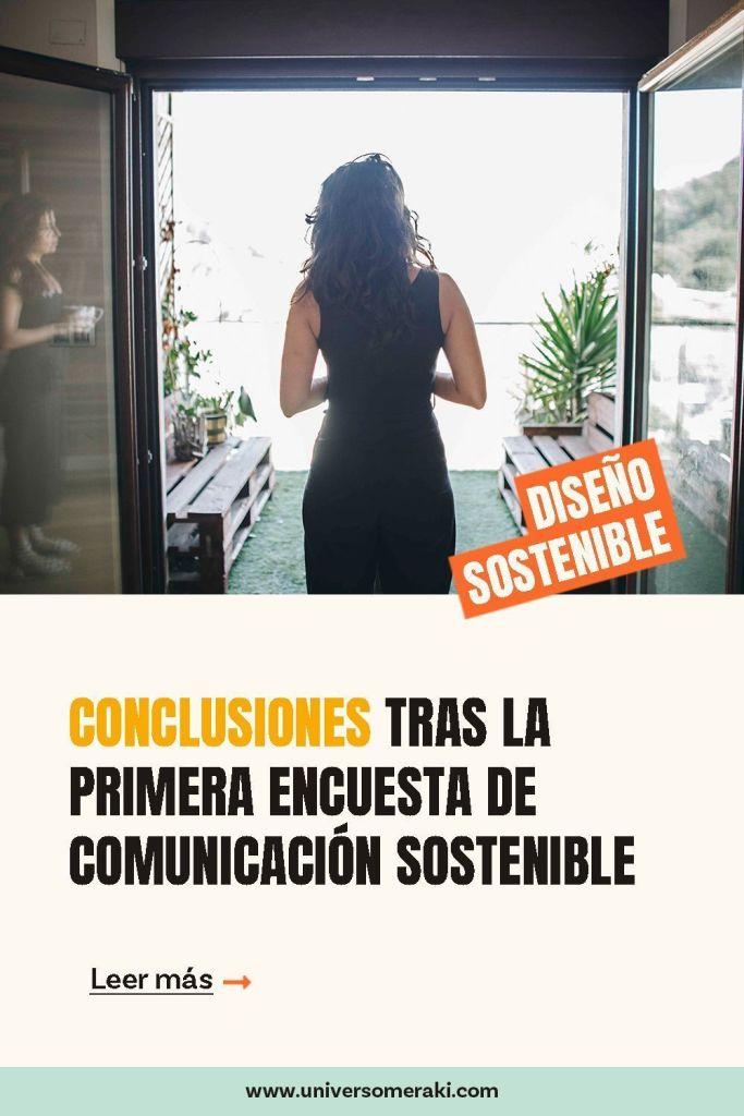 Conclusiones tras la primera encuesta de comunicación sostenible