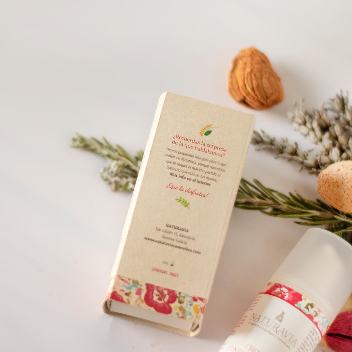 Packaging contorno de ojos Rosa Mosqueta Naturavia