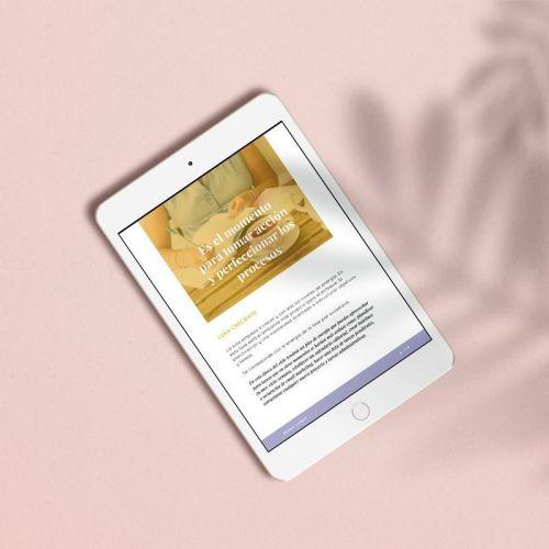 diseño ebook para Samanta Cortés