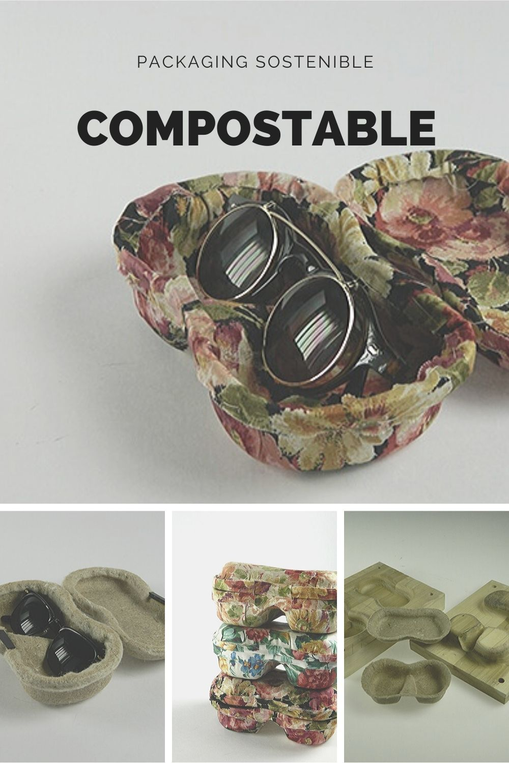packaging hecho con materiales compostables