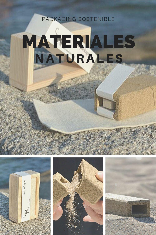 materiales naturales, packaging sostenible