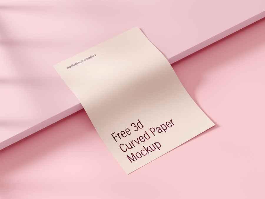 Mockup cartel superposicion