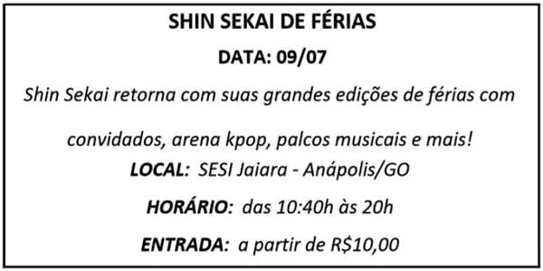 09 SHIN SEKAI - Agenda