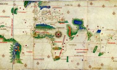mapa descobrimentos - Visão NERD: O Descobrimento do Brasil