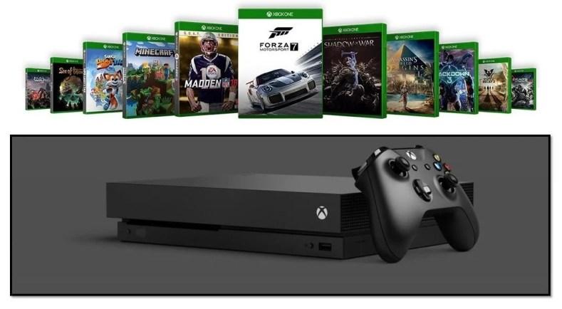 xbox one x games 4k - Xbox One, Jogos E Acessórios Na Black Friday