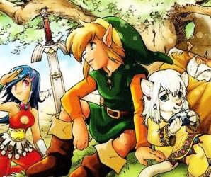 Mangás De Legend Of Zelda Em Português