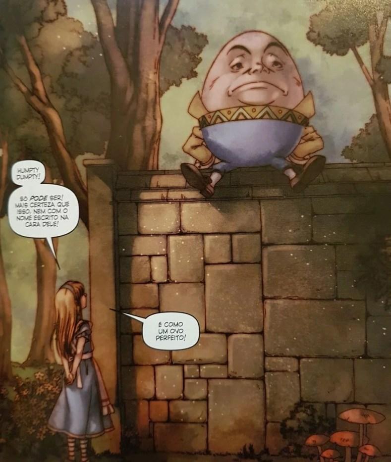 Figura 5 - Alice No País Das Maravilhas Em Quadrinhos - Uma Viagem Alucinante E Fantástica!